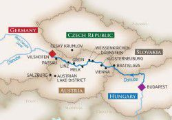 AmaWaterways Melodies of the Danube River Cruise itinerary
