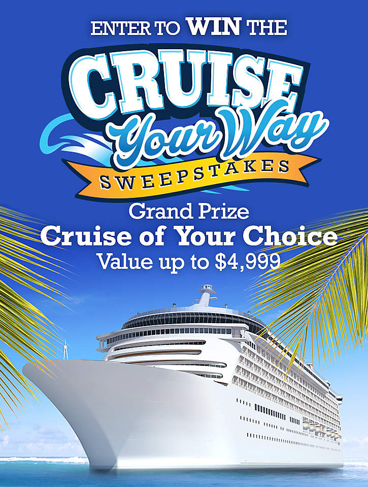 Cruise Your Way Sweepstakes