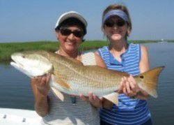 Louisiana Women With Redfish