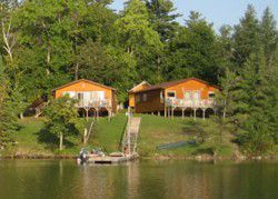 Cabins on Lake of the Woods