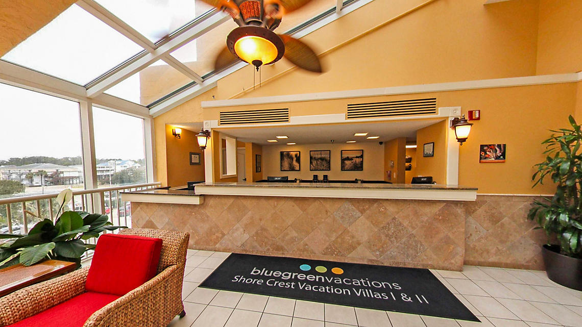 Shore Crest Vacation Villas™ I & II  lobby