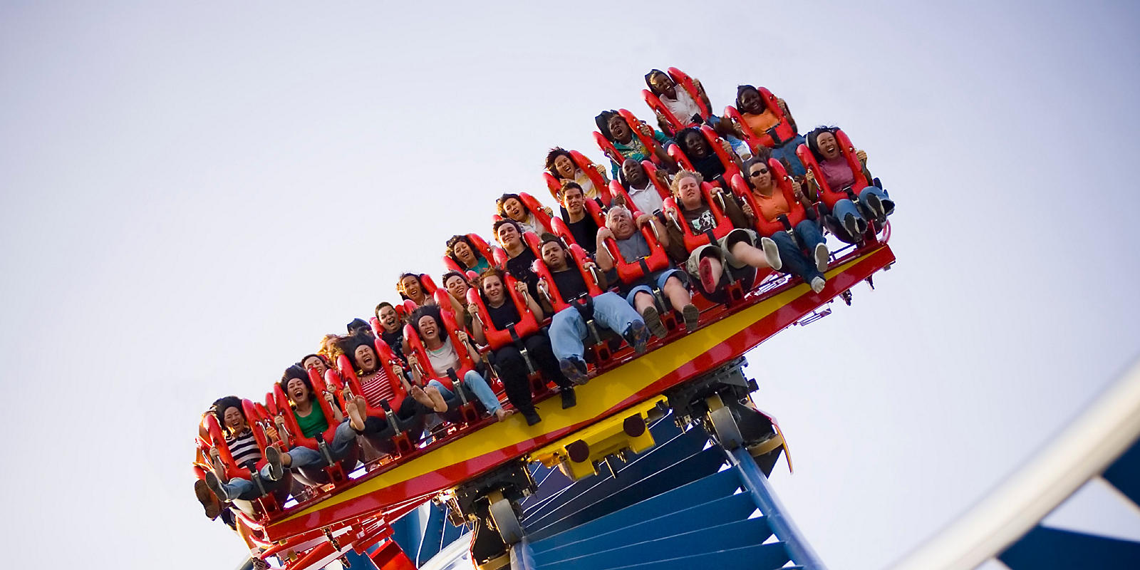 People on coaster at Busch Gardens® Tampa Bay
