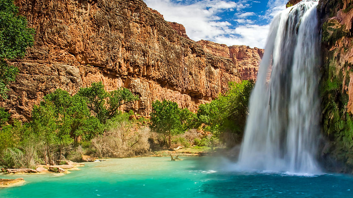 Arizona Havasu Falls Havasupai Grand Canyon