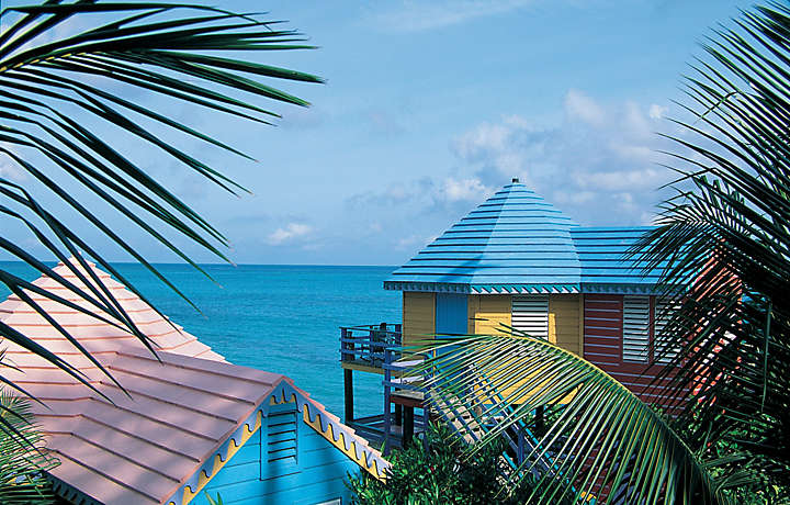 Beachfront accommodations in the Bahamas
