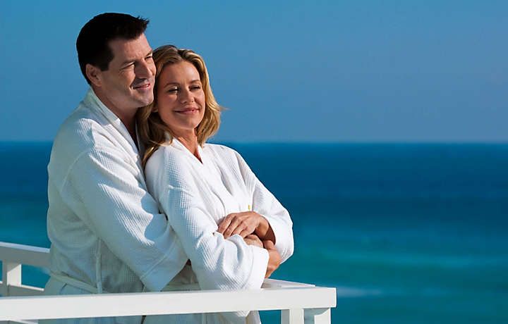 Couple on Balcony - Solara Surfside™