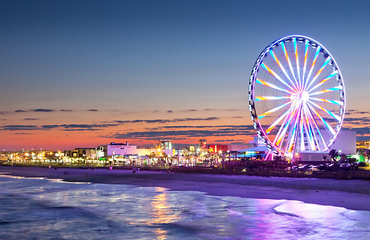 Myrtle Beach Is One Of The Most Exciting Family Destinations Explore An Almost Limitless Selection Fun Filled Attractions That Meander Along 60 Miles