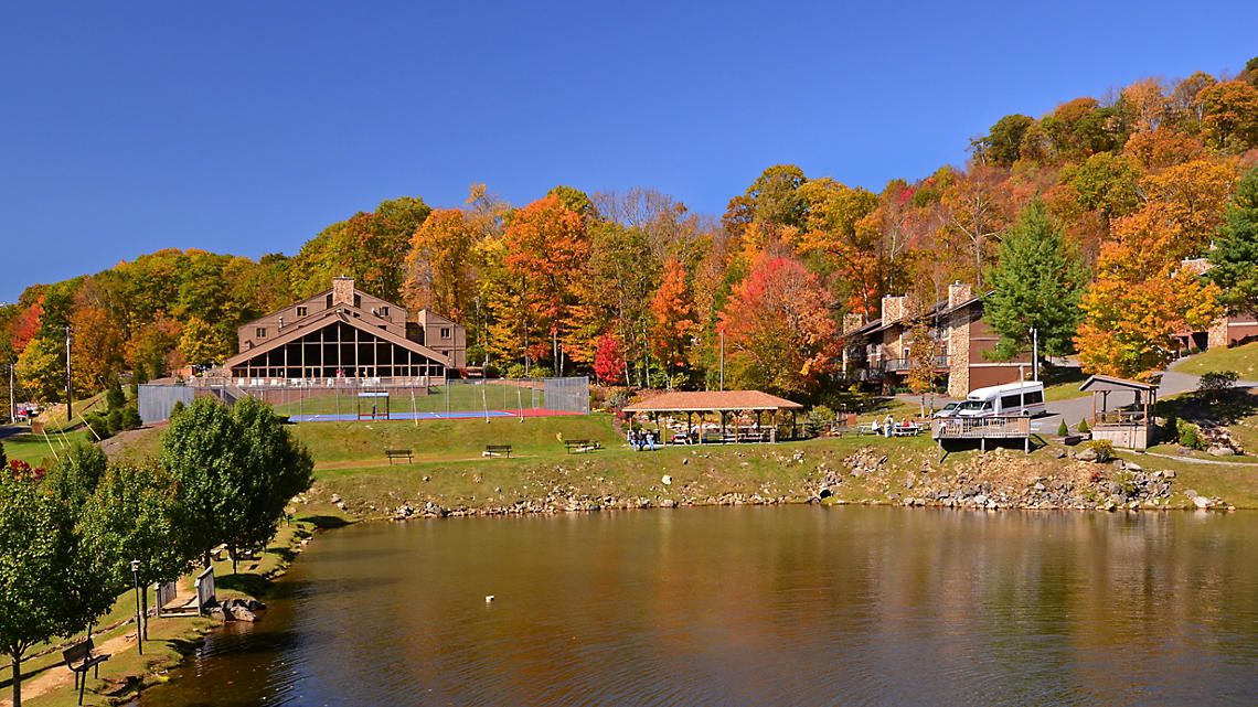 Blue Ridge Village Clubhouse in Fall