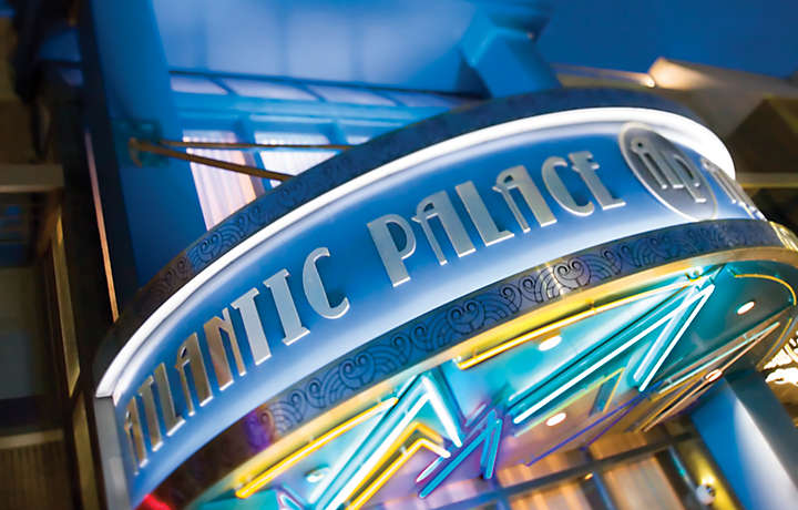 Welcome Sign - Bluegreen at Atlantic Palace