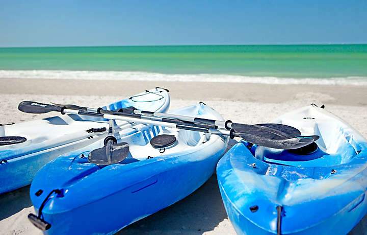Beach Kayak - Bluegreen at TradeWinds