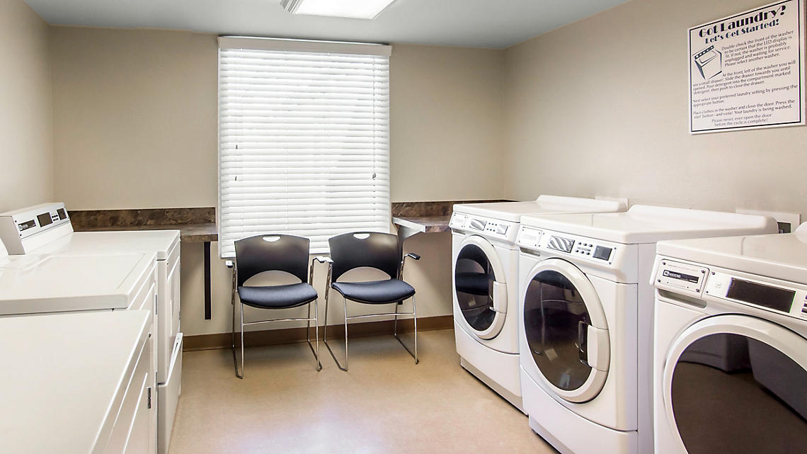 Common Laundry Area for Studio, 1 Bedroom Standard, 1 Bedroom w/Study, and 2 Bedroom Standard units