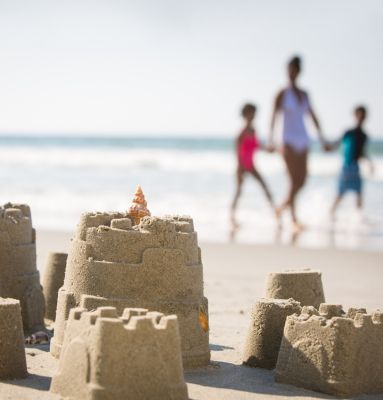 Myrtle Beach Family Beach Sandcastle