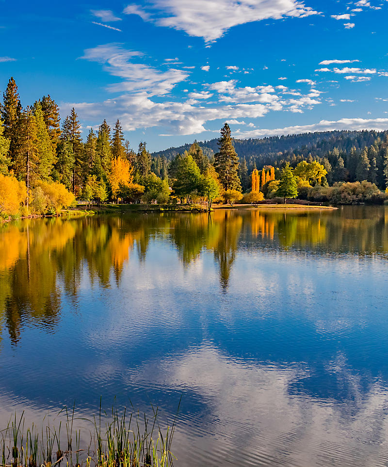 California Bernardino County at Grass Valley Lake