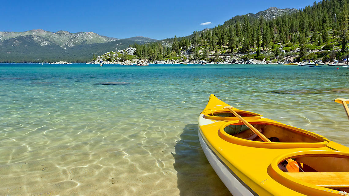 Paddle your way along Big Bears crystal clear waters
