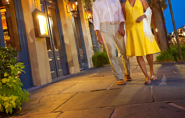 Couple in Charleston - The Lodge Alley Inn™