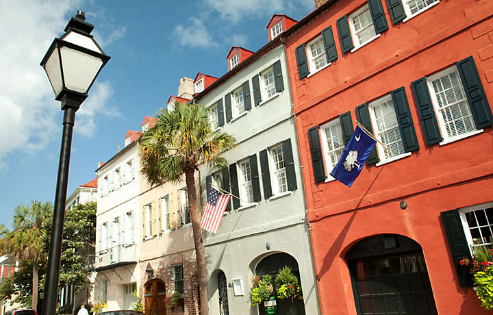 Bluegreen Vacations to Rainbow Row of Charleston