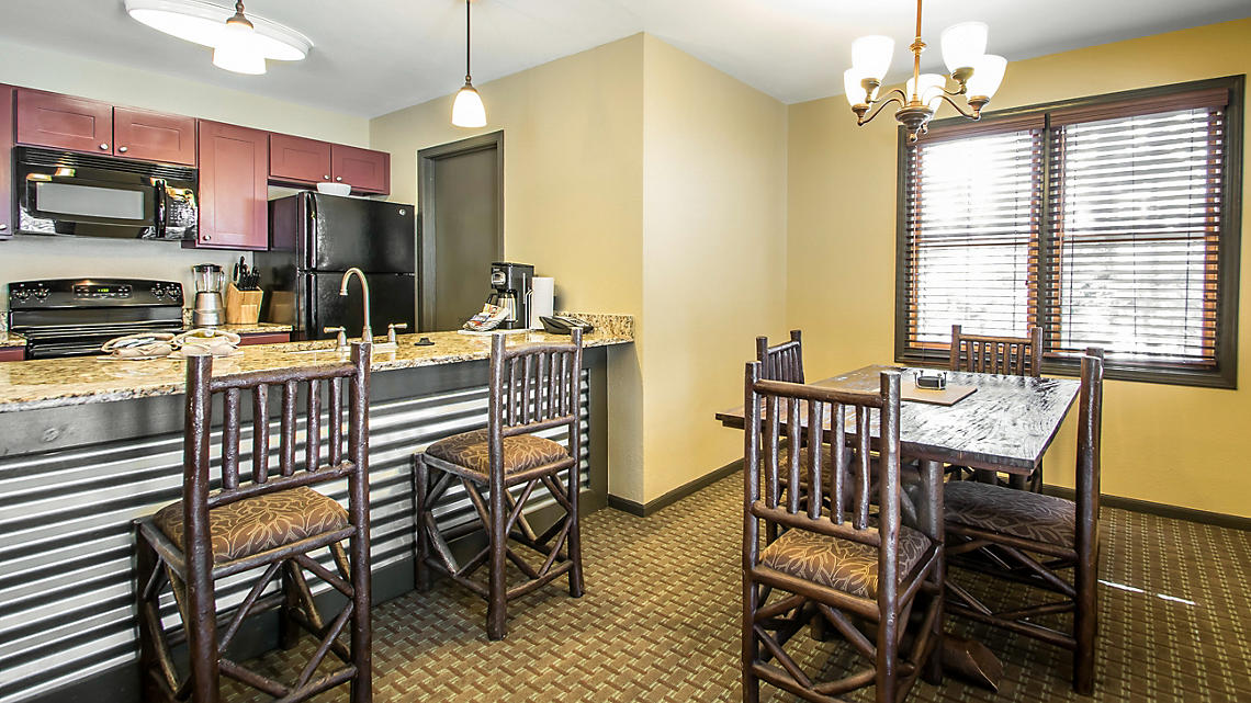2-Bedroom Townhome Kitchen and Dining Area
