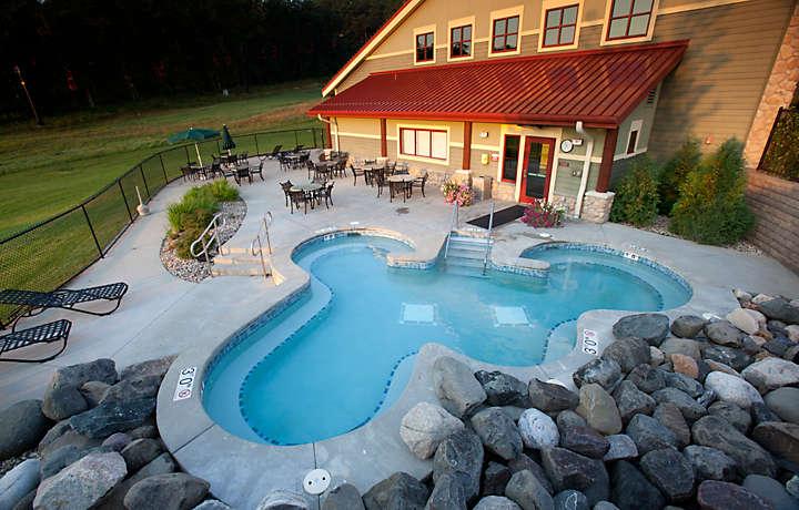 Outdoor Pool - Christmas Mountain Village™