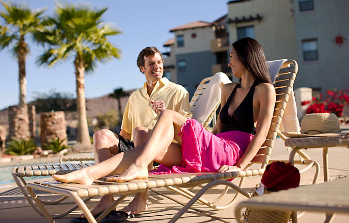Couple by Pool - Cibola Vista Resort and Spa