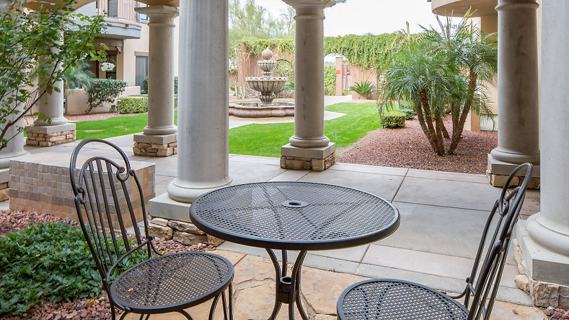 1 Bedroom Junior Patio views