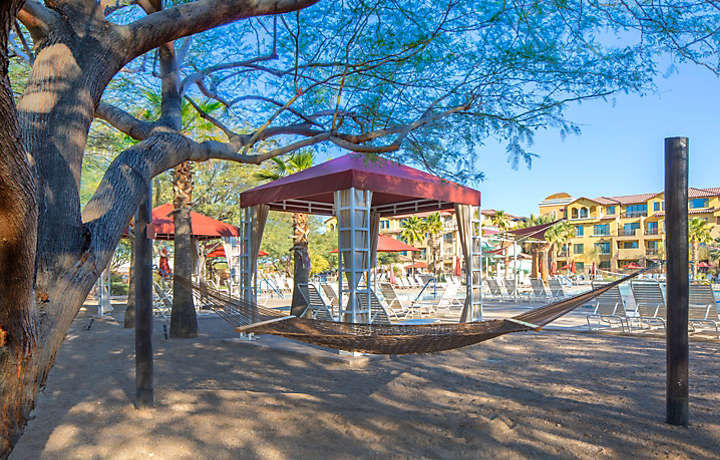 Cibola Vista Resort and Spa Relax Poolside in a Cabana or Hammock