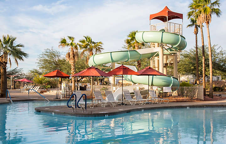 Cibola Vista Resort and Spa Family Friendly Pool and Waterslide