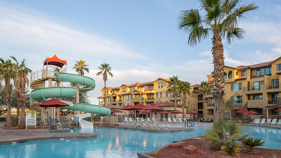 Lagoon Pool and Water Slide