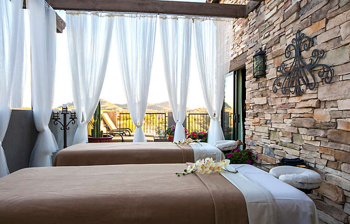 Cibola Vista Resort and Spa Outdoor Massage Area