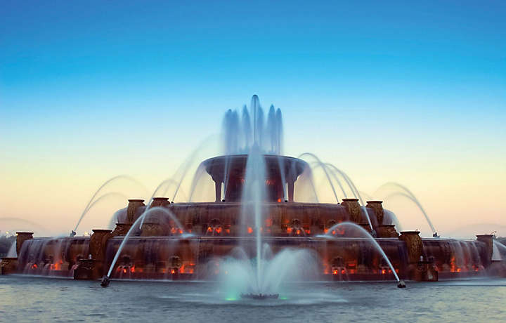 Chicago Illinois - Buckingham Fountain