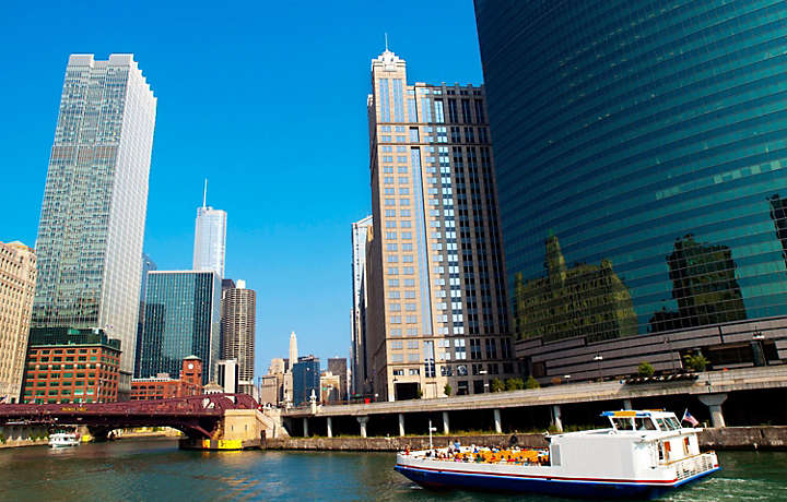 Chicago Illinois - City Tour on Boat