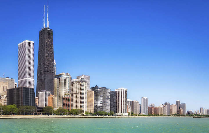 Chicago Illinois - City view from the Water