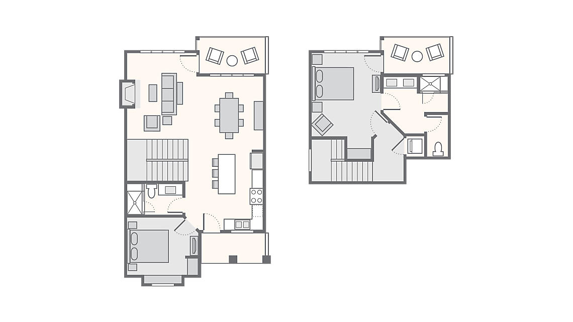 2 Bedroom Standard - 1,371 SQ FT