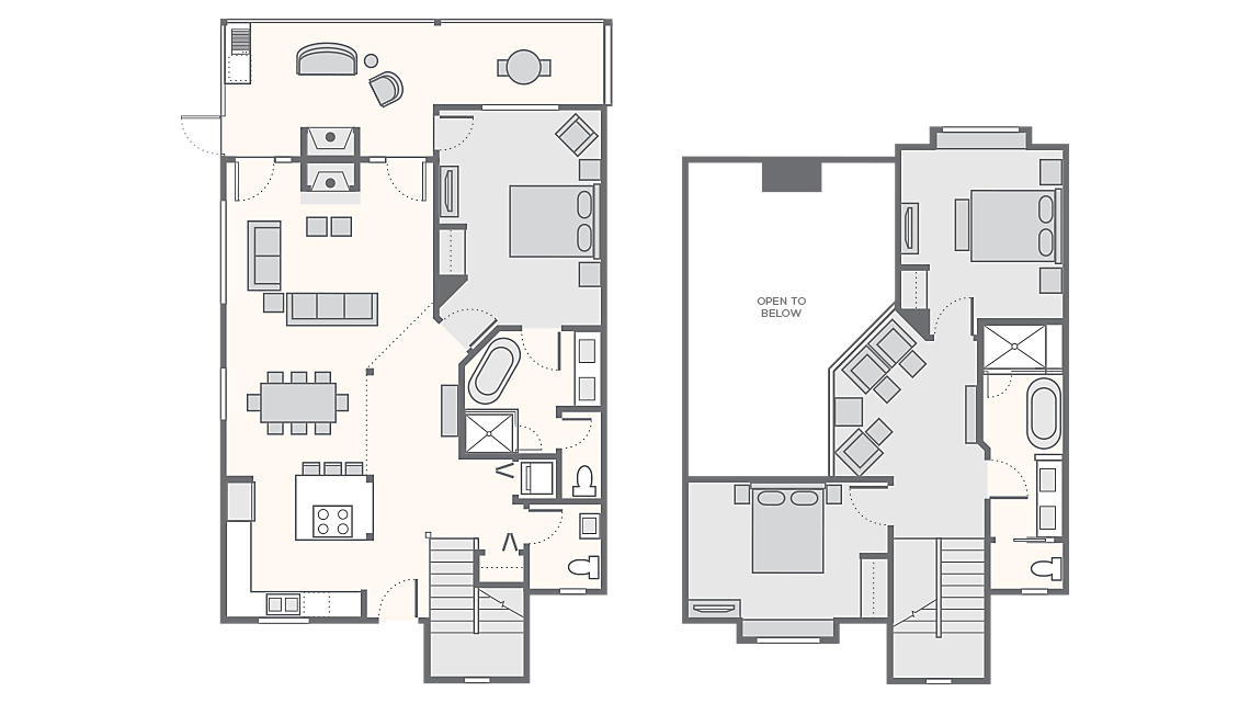 3 Bedroom Presidential - 2,017 SQ FT