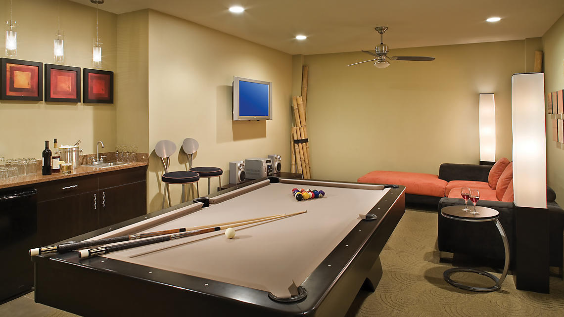 Four Bedroom Presidential Recreation Room