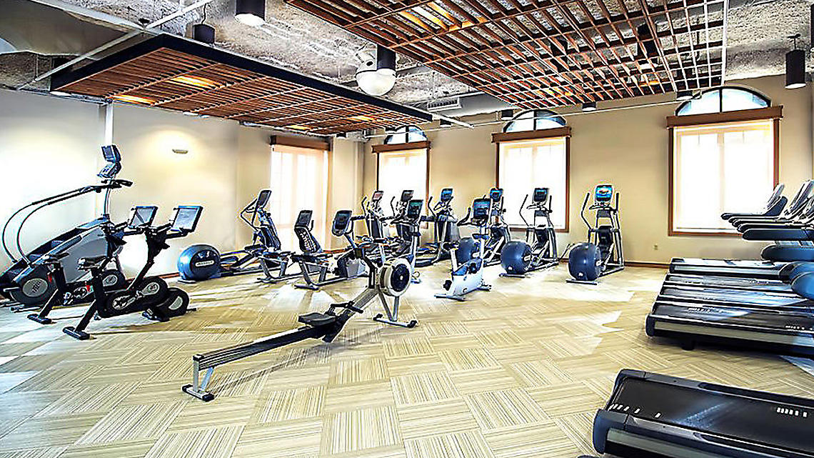 12,000-square-foot Fitness Center