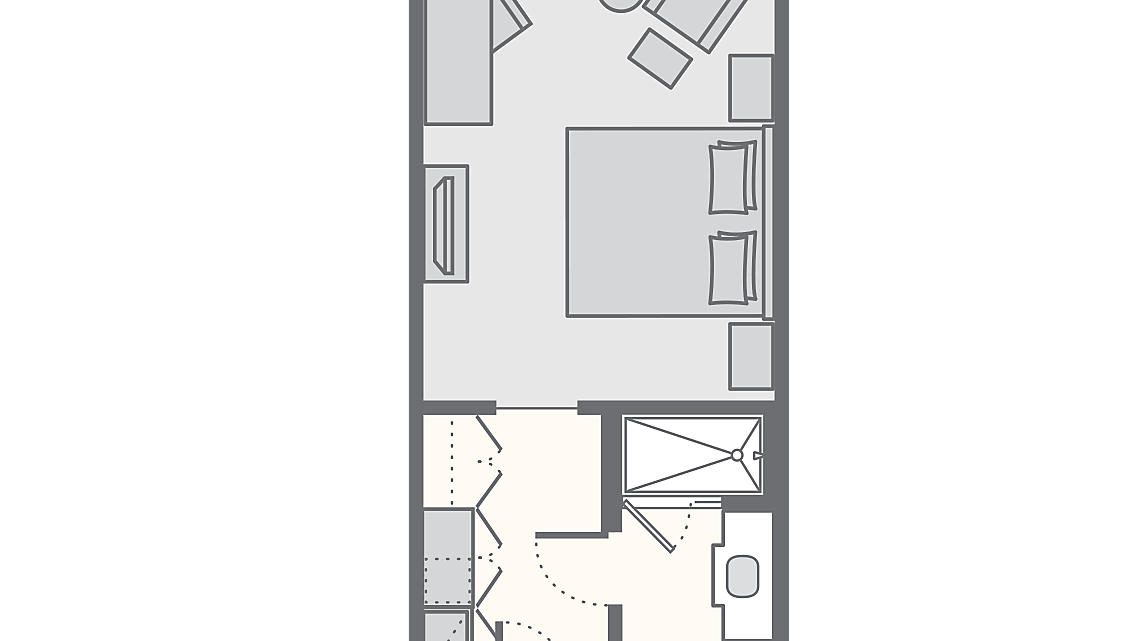 Junior Suite 380 SQ FT