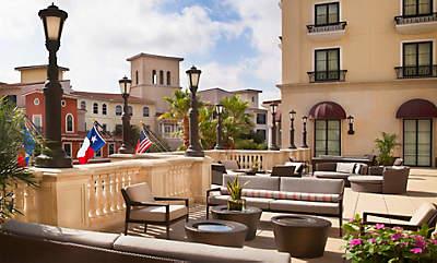 Eilan Hotel Spa outdoor terrace