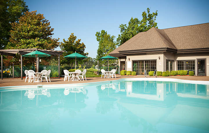 Outdoor Pool & Patio - The Falls Village™