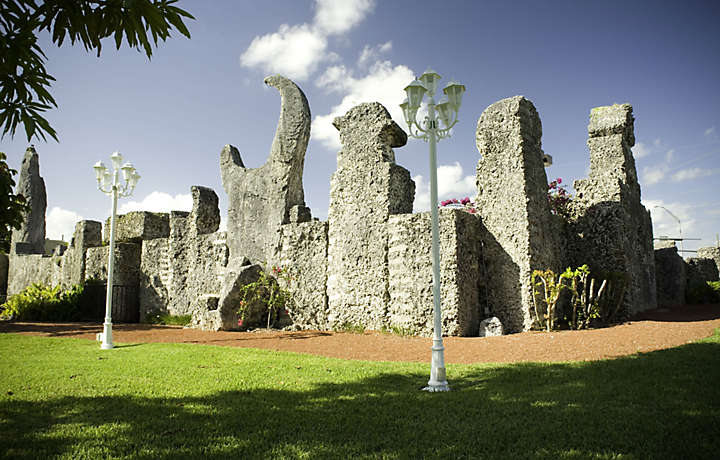 Coral Castle of Miami Florida