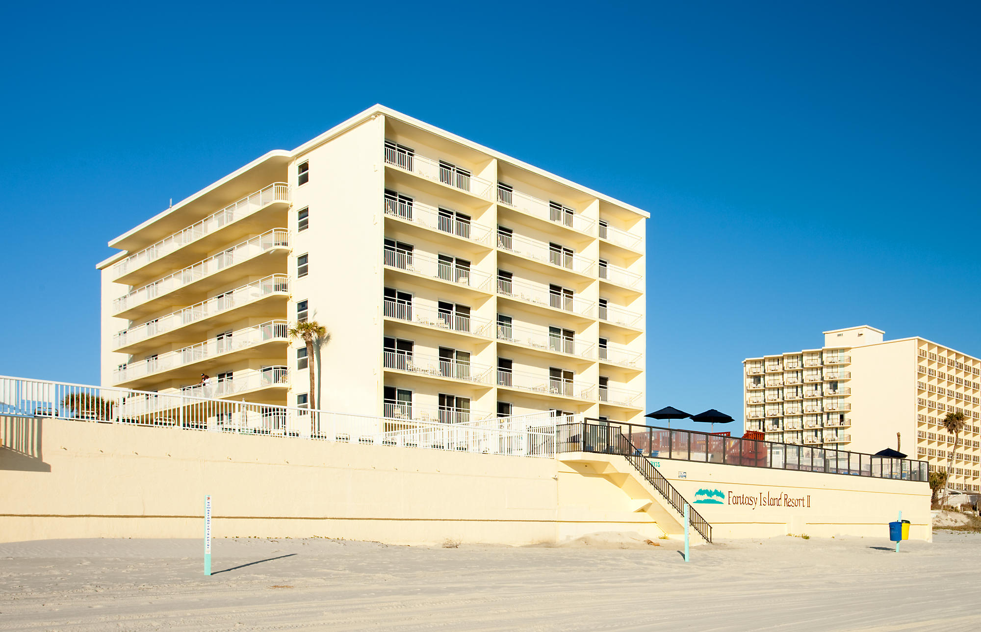 Fantasy Island Resort II Resort  Daytona Beach Florida