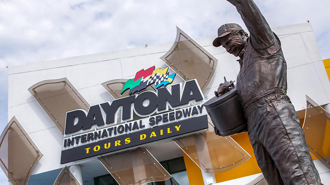 Daytona International Speedway, home to the Daytona 500
