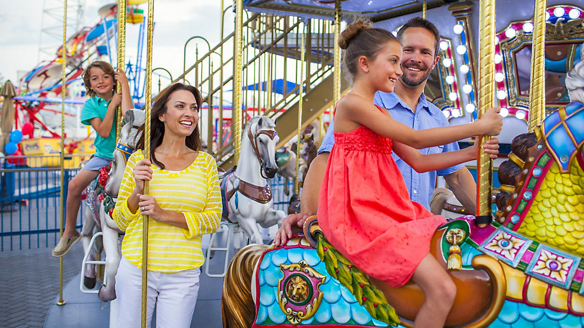 Family amusements for kids and kids-at-heart