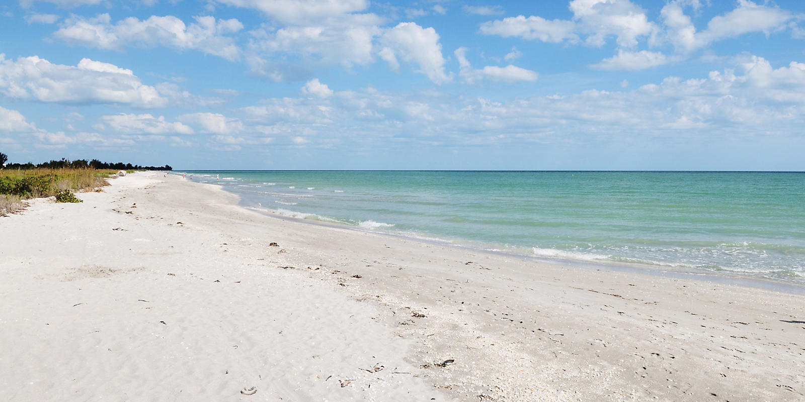 Bowman Beach Ocean gulf view in Sanibel Island