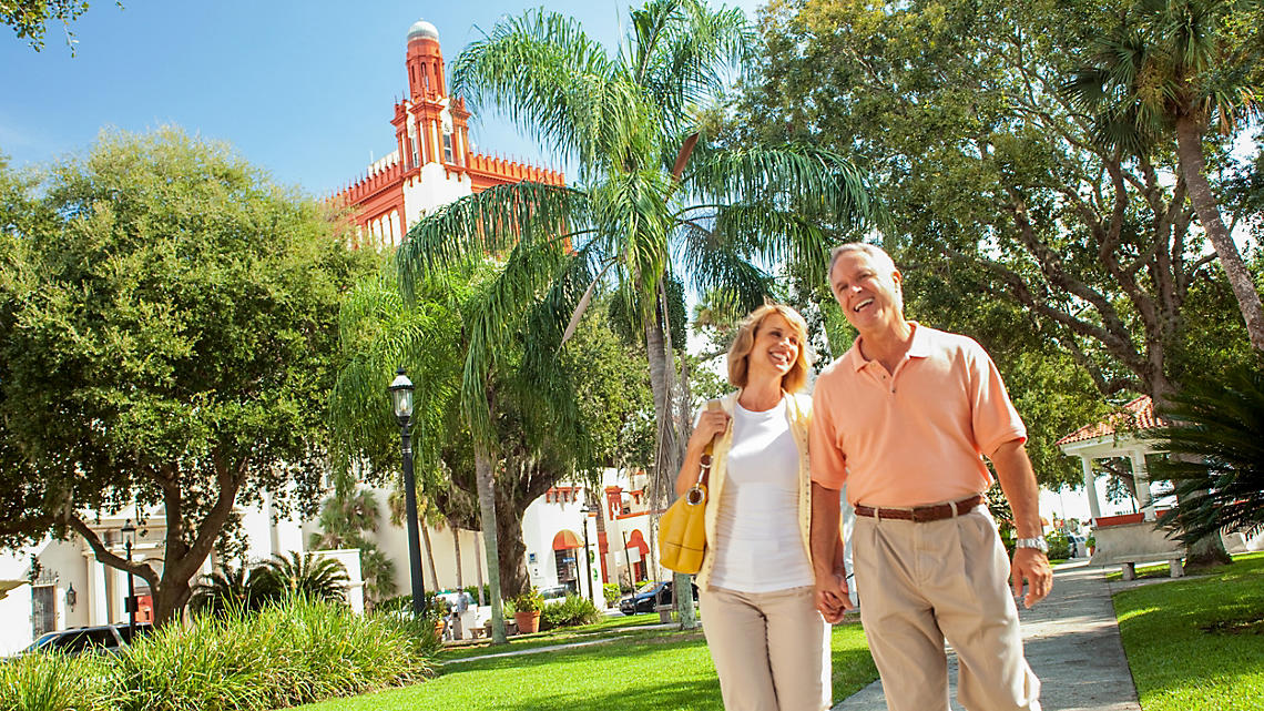 St. Augustine is one of Florida's most walkable cities