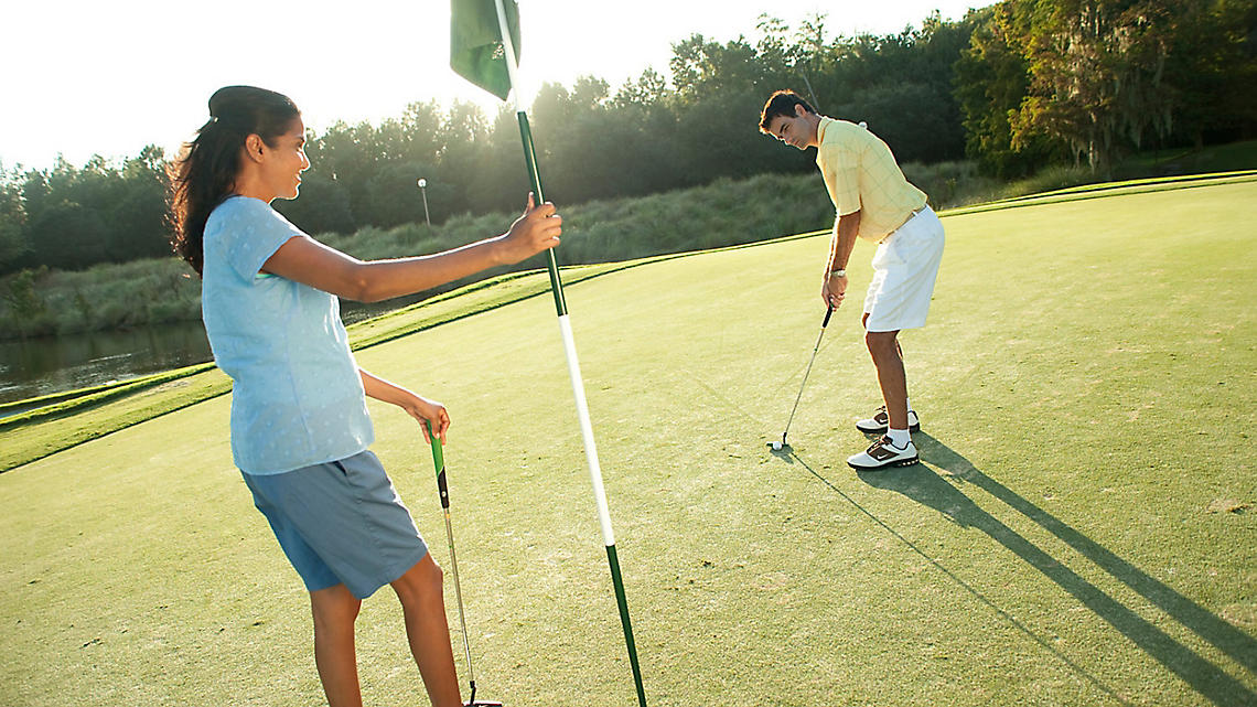 Sharpen your game at the many courses in St. Augustine