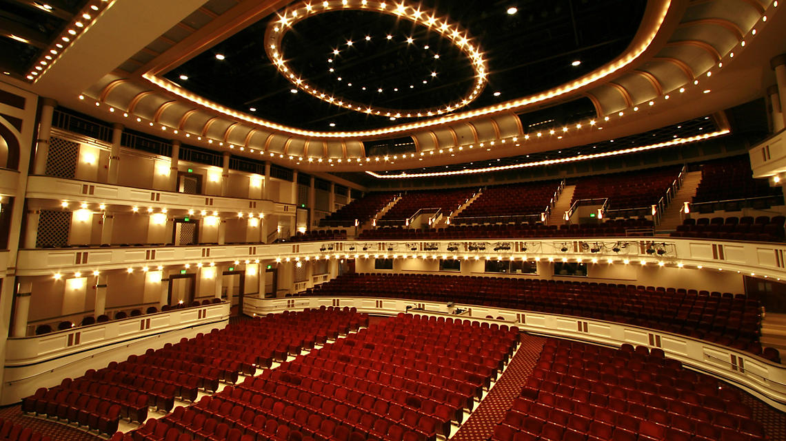 Mahaffey Theater, St. Pete's premier performing arts concert hall.
