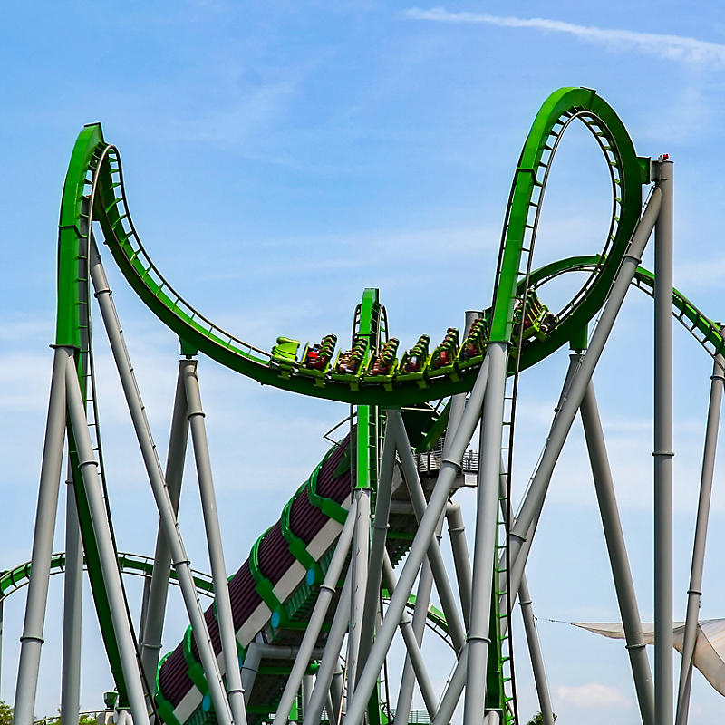 Florida Universal Roller Coaster, The Hulk