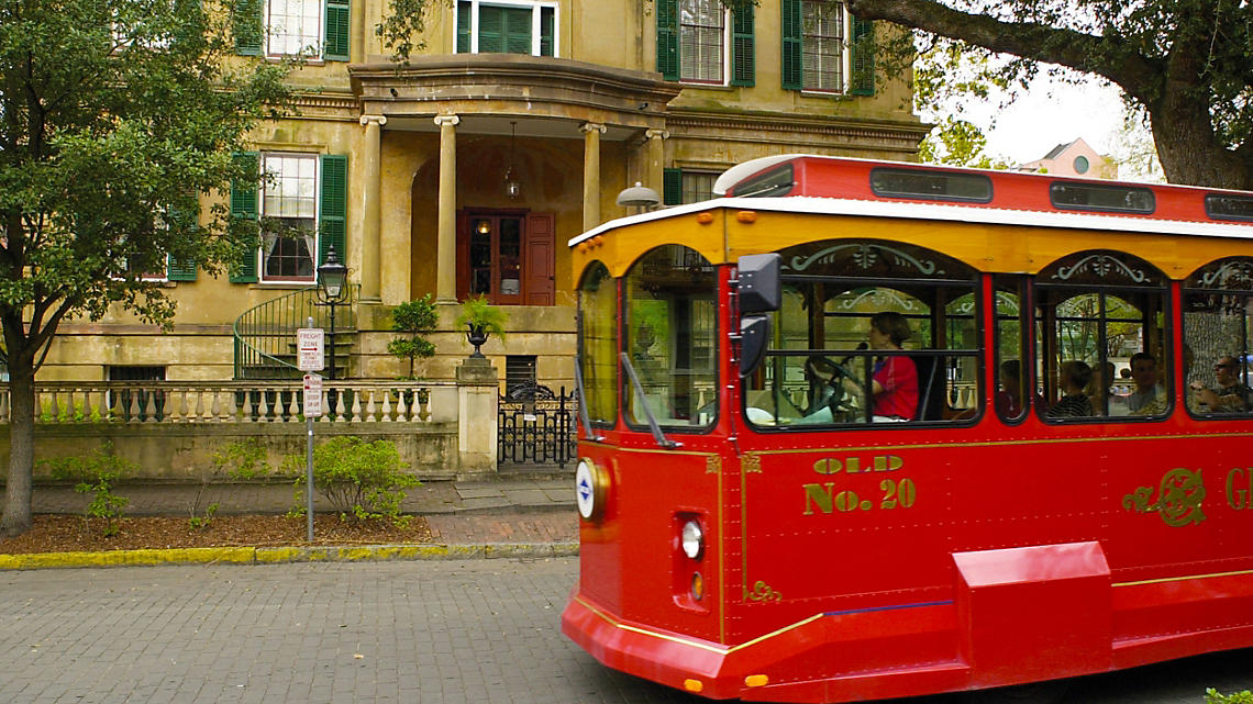 Hop on an Old Town Trolley