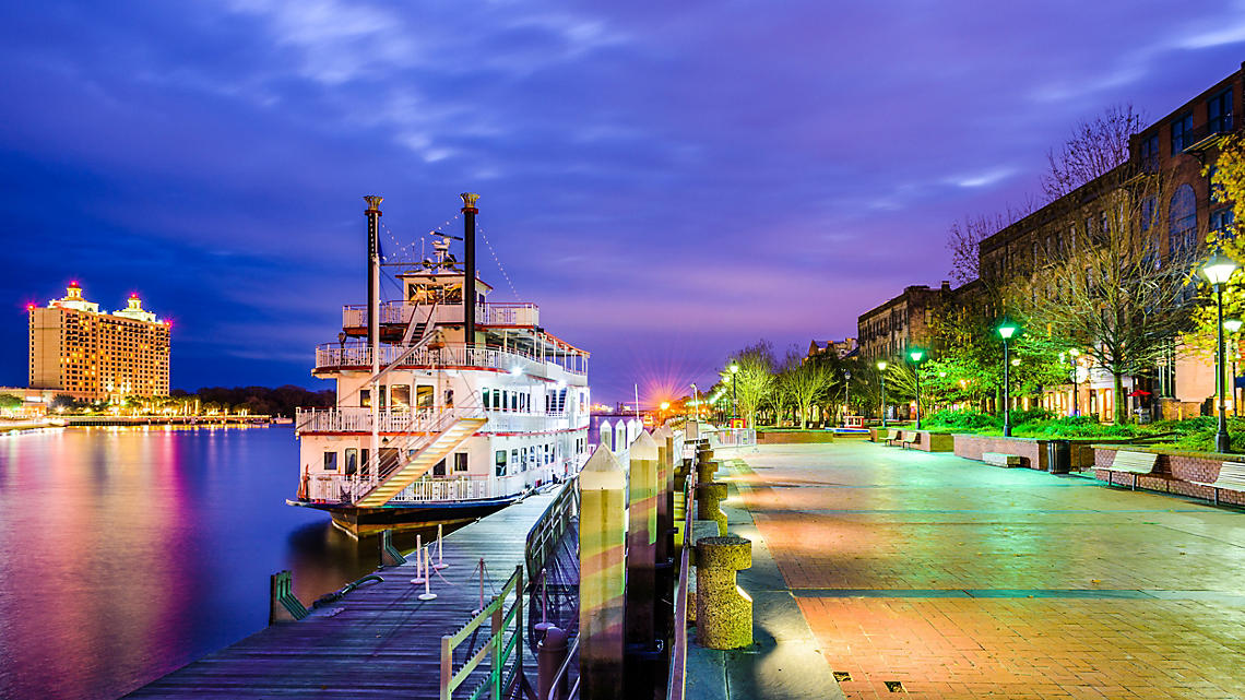 Set sail on an evening riverboat cruise