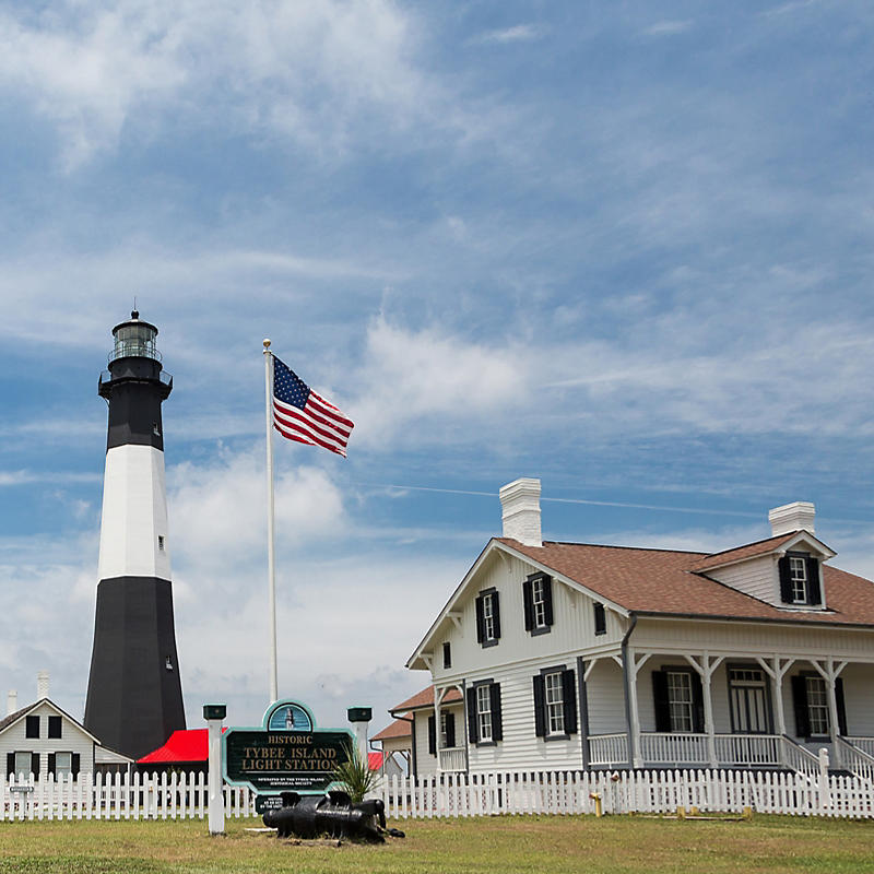 Tybee Island and lighthouse