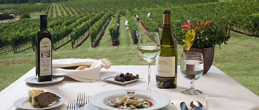 Food and wine vineyard in Gordonsville, VA